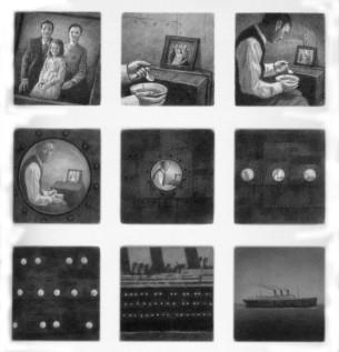 Lucie Lomová rozebírala ukázky z Jimmyho Corrigana, knihy 99 Ways to Tell a Story: Exercises in Style od Matte Maddena nebo z kultovního šestistránkového příběhu Here, ve kterém Richard McGuire pozoruje jeden kout obývacího pokoje. V jiné části Lomová ukázala, jak zásadní je pro Shauna Tana řazení panelů v díle The Arrival.
